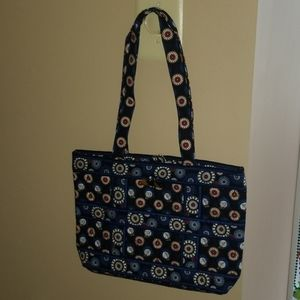 Retired Night Owl Quilted Purse